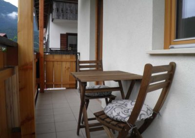 balcone bed and breakfast A ceda toa